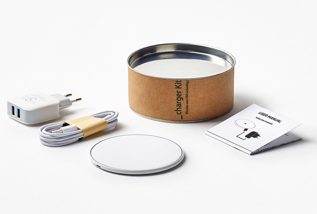 Kit Ricarica Wireless + Alimentatore