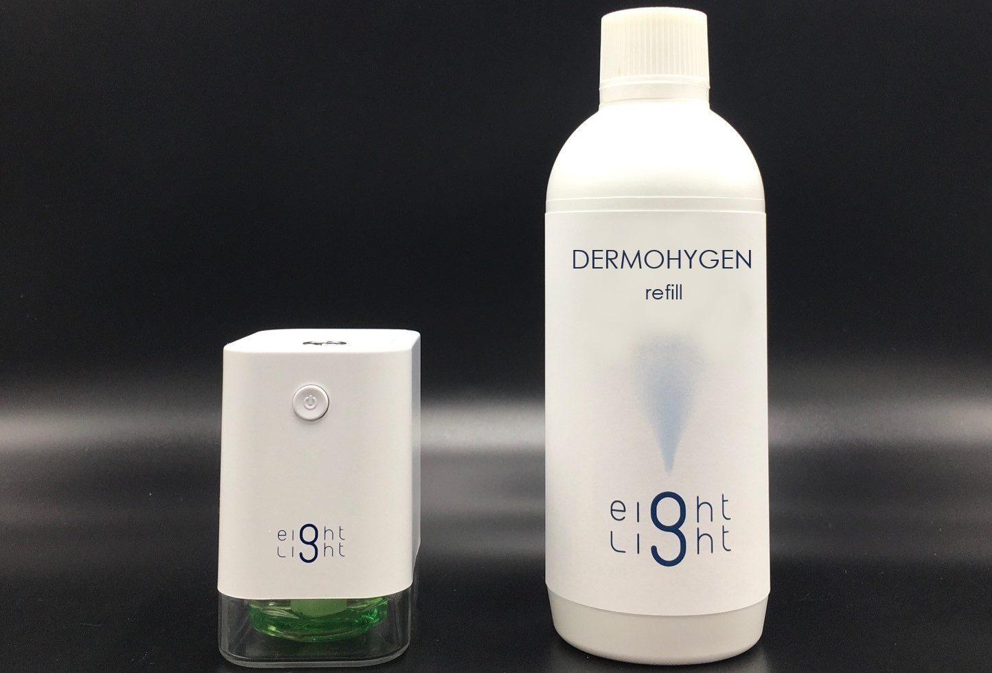 Erogatore Spray + Liquido Di Ricarica Dermohygen 500 Ml