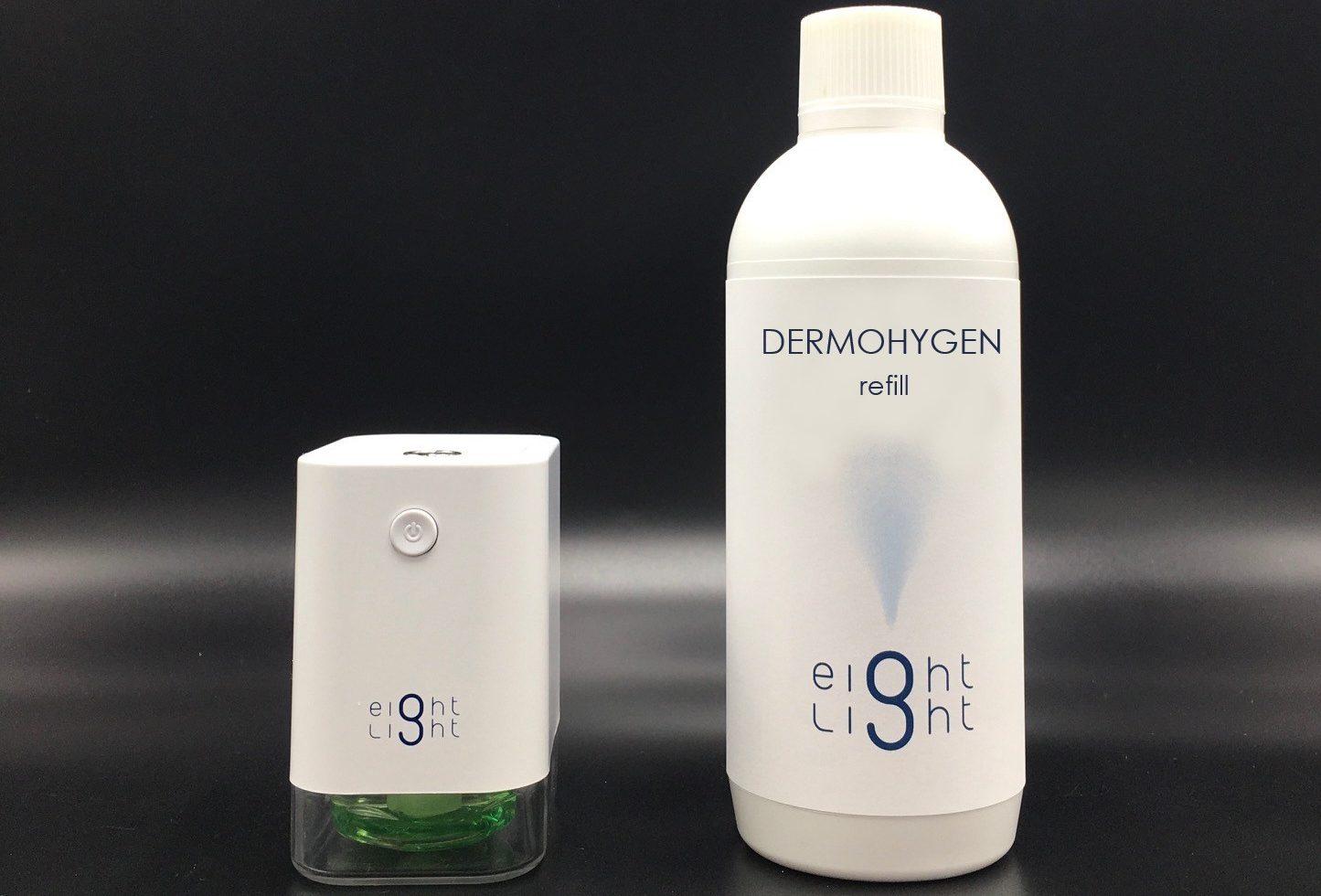 Spray Dispenser + Dermohygen Refill Liquid 500 Ml